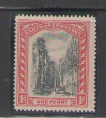 Bahamas Sc 48 1911 1 d Queens Staircase stamp mint