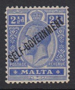 Malta Sc 78 (SG 107), MHR