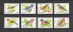 BIRDS - TURKEY #2890-97  MNH