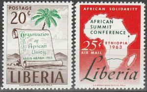 Liberia #412, C156  MNH VF (SU3492)