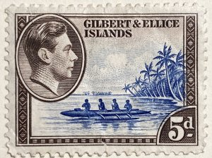 AlexStamps GILBERT & ELLICE ISLANDS #46 XF Mint