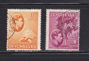 Seychelles 127, 134 U Various