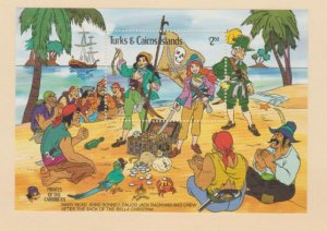 Turks & Caicos Scott #704 Stamps - Mint NH Souvenir Sheet