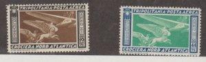 Tripolitania Scott #C27-C28 Stamps - Mint Set