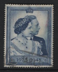 GREAT BRITAIN 268 USED HIGH VALUE KING GEORGE & QUEEN ELIZABETH 1948