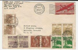 Mixed Frank 1946 Japan-USA APO 500 MacArthur's GHQ Charles E. Tuttle (Publisher)