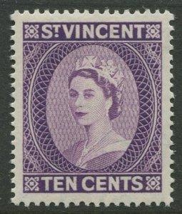 STAMP STATION PERTH St.Vincent #191 QEII Definitive 1955 MLH CV$0.45