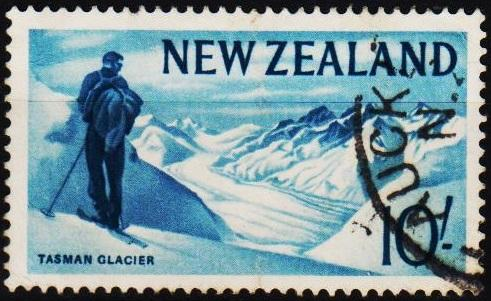 New Zealand. 1960 10s S.G.801 Fine Used