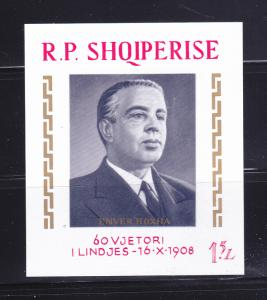 Albania 1190 MH Enver Hoxha Politician