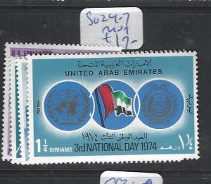 UNITED ARAB EMIRATES (P2812B)  SG  24-7  MOG