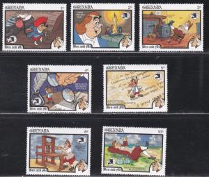 Grenada # 1638-1684, Disney Characters - Sydpex '88, NH, 1/3 Cat.