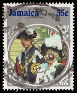 Jamaica - Scott 600 - Used - Heavy Cancel