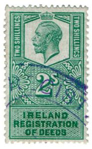 (I.B) George V Revenue : Ireland Registration of Deeds 2/-