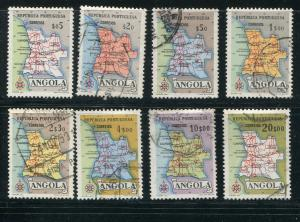 Angola #386-92 used  - Make Me A Reasonable Offer