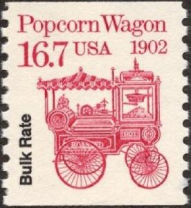 2261 Popcorn Wagon F-VF MNH transportation coil single