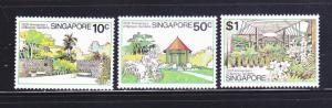 Singapore 333-335 Set MNH Botanic Gardens