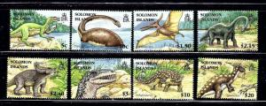 Solomon Is 1062-69 MNH 2006 Prehistoric Animals