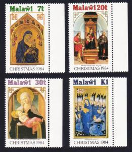 Malawi Christmas Religious Paintings 4v with margins SG#716-719 SC#454-457