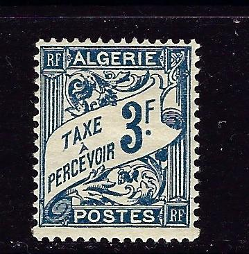 Algeria J11 Hinged 1927 issue