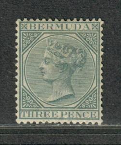 Bermuda Sc#23 M/H/VF, Cv. $27.50