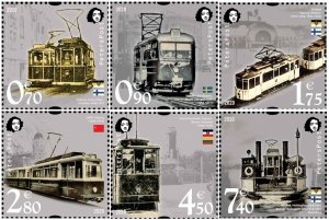 Russia. Finland. 2020. - Finland. Peterspost. Lost tram lines of Baltic cities,