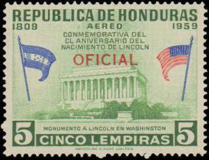 1959 Honduras #C098-C0109, Complete Set(12), Never Hinged