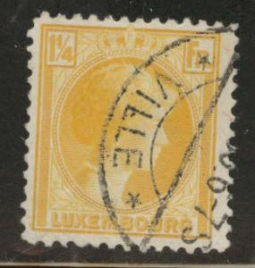 Luxembourg Scott 181 Used  from 1926-35 stamp set