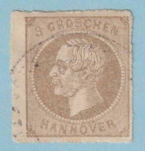GERMAN STATES - HANOVER 29  USED - NO FAULTS EXTRA FINE!