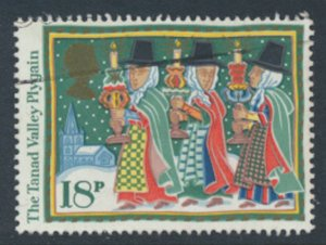 Great Britain  SG 1343  SC# 1164 Christmas   Used see detail and scan
