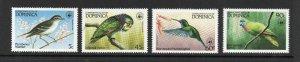 Dominica - SG# 870 - 873 MH / Birds      -       Lot 0421537