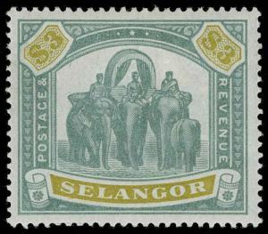 Malaya / Selangor Scott 38 Gibbons 63 Mint Stamp