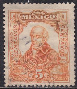 Mexico 314 Hinged 1910 Don Miguel Hidalgo y Costilla