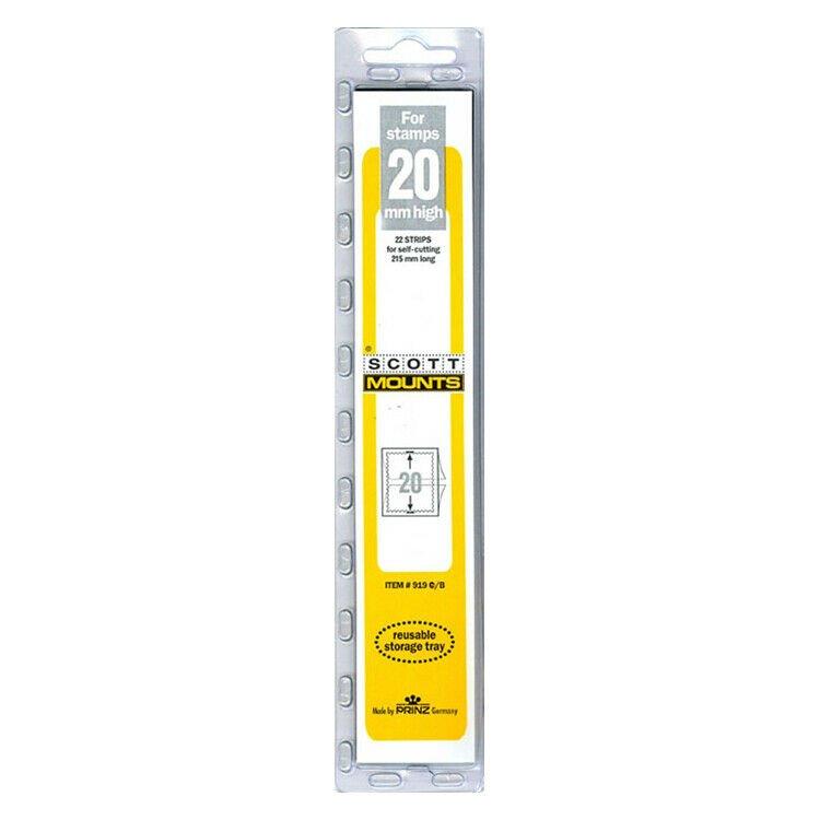 Scott/Prinz Strips of 215mm Long Stamp Mount Size: 215x20 #919 B