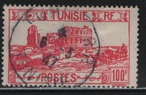 TUNISIA , 113D, USED, 1926-46 Roman Amphitheater, El Djem