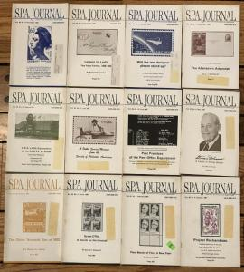 Society of Philatelic Americans SPA Journal 1981 full year set of 12 issues