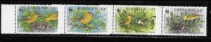 Barbados 1991 World Wildlife Fund Bird Yellow Warbler MNH A175