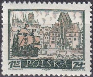 Poland #957  MNH