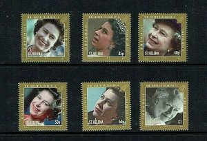 St Helena: 2012 Queen Elizabeth, Diamond Jubilee,  MNH set