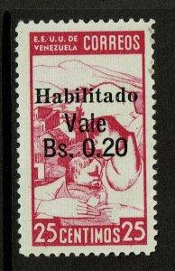 Venezuela SC# 384, Mint Never Hinged, very small, minor crease - S10973