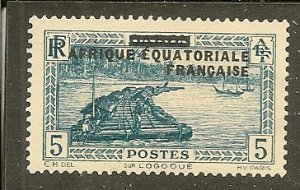 French Equatorial Africa   Scott 4  Unused
