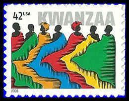 PCBstamps  US #4373 42c Kwanzaa, 2008, MNH, (7)