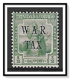 Trinidad & Tobago #MR4 War Tax Used