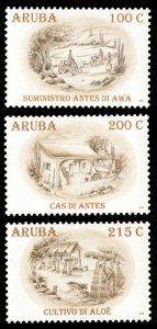 Aruba 2008 Scott #338-340 Mint Never Hinged
