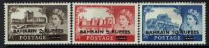 Bahrain SG# 94b,  95a, and 96 - Mint Very Light Hinged - 031217