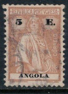 Angola #159F  CV $12.50