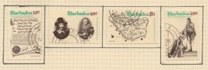 Barbados Sc 463-66 1977  Charter Anniversary stamp set used