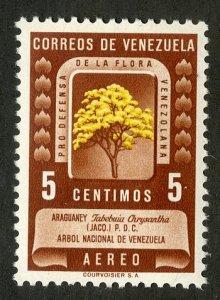 VENEZUELA C293 MNH BIN $.45 TREES