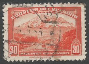 ECUADOR 407B VFU Z1468-1