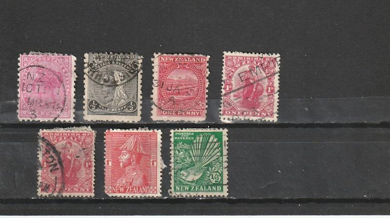 #61,67A,85,131,184-5 New Zealand Used