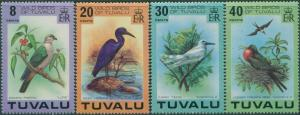 1978 Tuvalu 58-61 Birds 11,00 €
